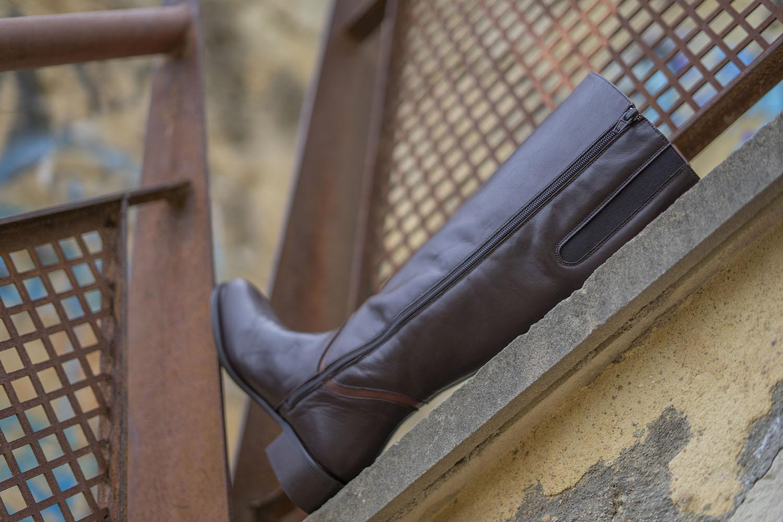 moda curvy botas de caña ancha xxl